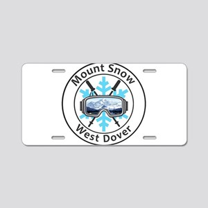 Mount Snow - West Dover - Aluminum License Plate