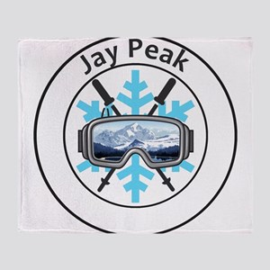 Jay Peak Resort - Jay - Vermont Throw Blanket