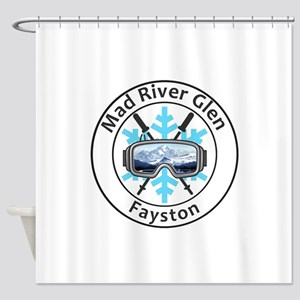 Mad River Glen - Fayston - Vermon Shower Curtain