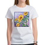Sunny Sunflowers Watercolor Women's T-Shirt