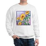 Sunny Sunflowers Watercolor Sweatshirt