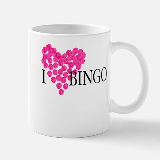 I Love Bingo Mug