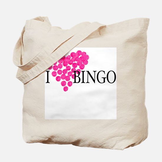 I Love Bingo Tote Bag