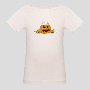 Pumpkin Patch Lounger Organic Baby T-Shirt