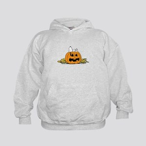 Pumpkin Patch Lounger Kids Hoodie