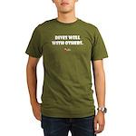 Dives Well Organic Men's T-Shirt (dark)