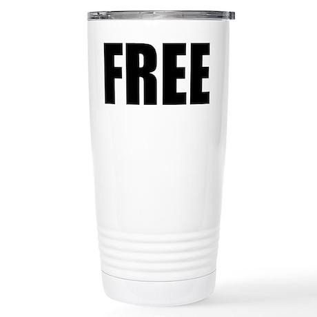 FREE Stainless Steel Travel Mug