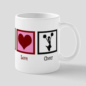 Peace Love Cheer Mug