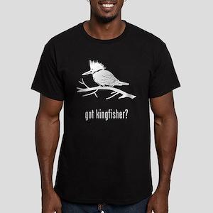 Kingfisher Men's Fitted T-Shirt (dark)
