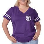 Oklahoma Women's Plus Size Football T-Shirt