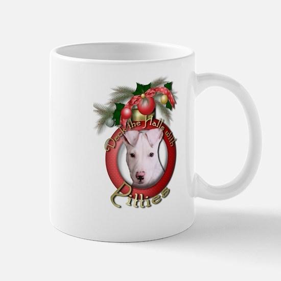 Christmas - Deck the Halls - Pitbull Mug