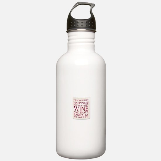 Unique Keep calm drink wine wine Water Bottle