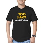 Too Lazy Men's Fitted T-Shirt (dark)