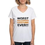 Worst Costume Ever Women's V-Neck T-Shirt