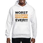 Worst Costume Ever Hooded Sweatshirt