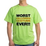 Worst Costume Ever Green T-Shirt