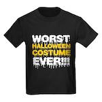 Worst Costume Ever Kids Dark T-Shirt