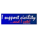 Civility Sticker (Bumper 10 pk)