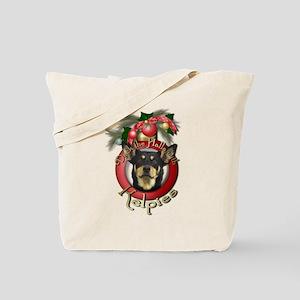Christmas - Deck the Halls - Kelpies Tote Bag