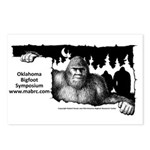 Oklahoma Bigfoot Postcards (package Of 8)
