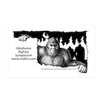 Oklahoma Bigfoot Symposium Logo 35x21 Wall Decal