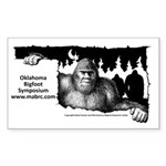 Oklahoma Bigfoot Symposium Logo Sticker