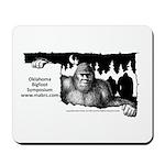 Oklahoma Bigfoot Symposium Logo Mousepad