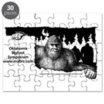 Oklahoma Bigfoot Symposium Logo Puzzle