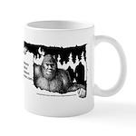Oklahoma Bigfoot Symposium Logo Mugs