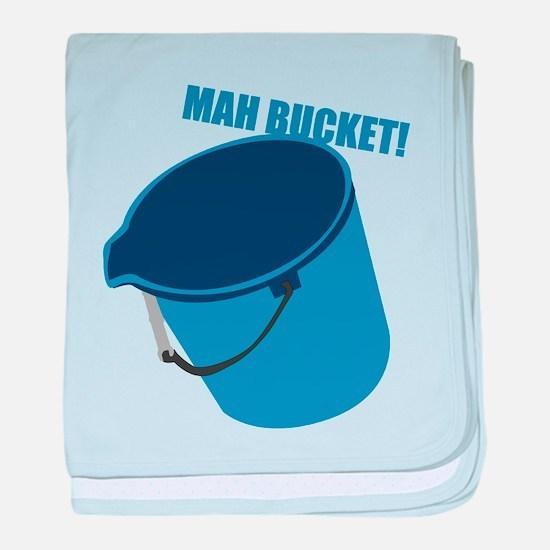 Mah Bucket Infant Blanket