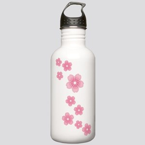 Pink Cherry Blossoms Stainless Water Bottle 1.0L