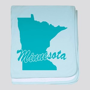 State Minnesota Infant Blanket