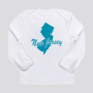 State New Jersey Long Sleeve Infant T-Shirt