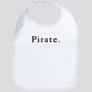 Understated Pirate Bib