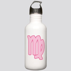 Pink Zodiac Virgo Stainless Water Bottle 1.0L
