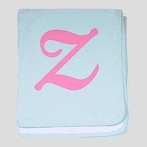 Z Initial Infant Blanket