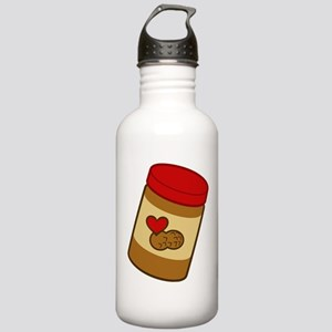 Jar of Peanut Butter Stainless Water Bottle 1.0L