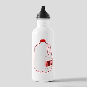Milk Jug Stainless Water Bottle 1.0L