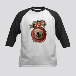 Christmas - Deck the Halls - Retrievers Kids Baseb