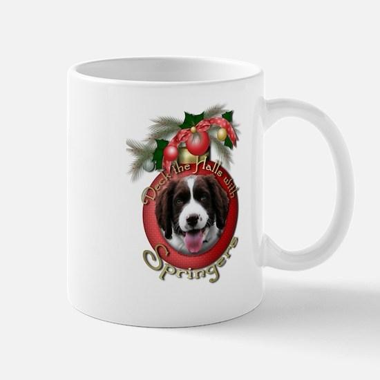 Christmas - Deck the Hall- Springers Mug