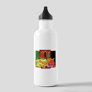 Kwanzaa Design Stainless Water Bottle 1.0L