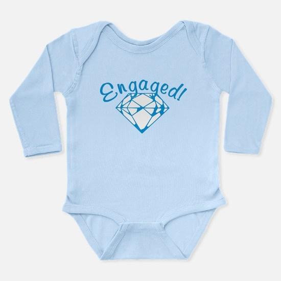 Engaged Long Sleeve Infant Bodysuit