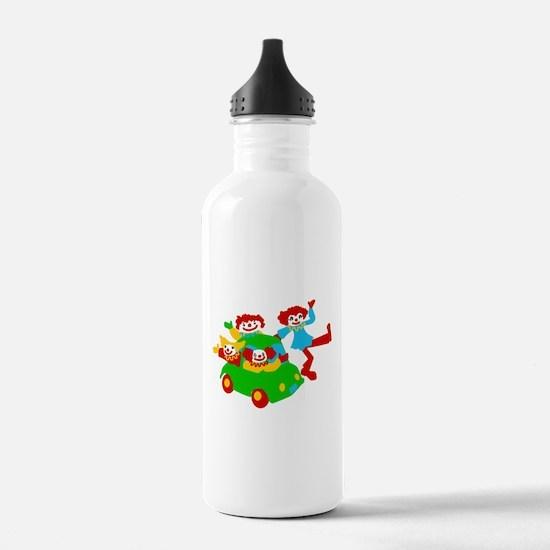 Clown Car Water Bottle