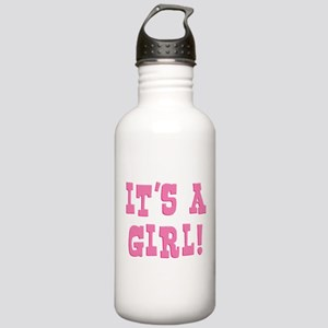 It's A Girl Stainless Water Bottle 1.0L