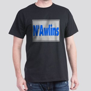 N'Awlins Street Tiles Black T-Shirt