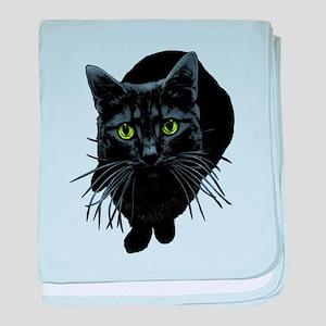 Black Cat Infant Blanket