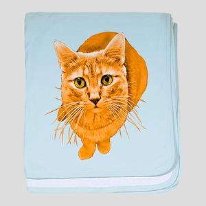 Orange Cat Infant Blanket