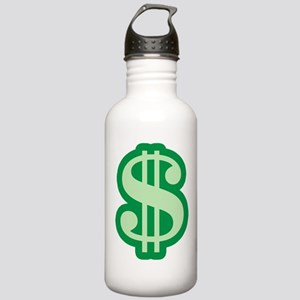 Dollar Sign Stainless Water Bottle 1.0L