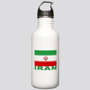 Iran Flag Stainless Water Bottle 1.0L