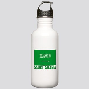 Saudi Arabia Flag Stainless Water Bottle 1.0L